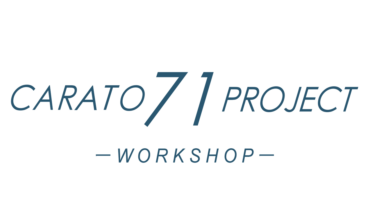 CARATO71PROJECT_Workshop20160418